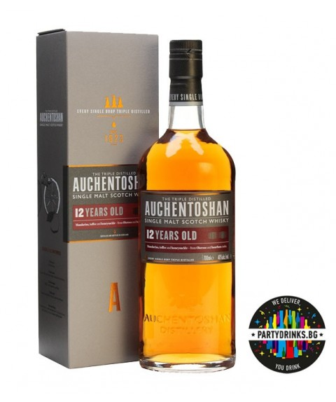 Auchentoshan 12 Years Old Single Malt Scotch Whisky 700ml