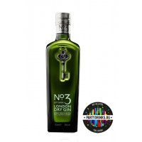 Джин N3 London Dry Gin 700ml 47%