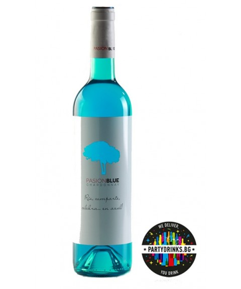 Синьо вино Pasion Blue Chardonnay 750ml