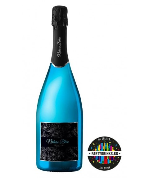 Синьо вино Nature Blue Brut 750ml