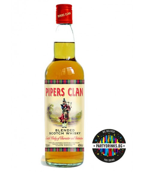 Pipers Clan Blended Scotch Whisky 700ml 40%
