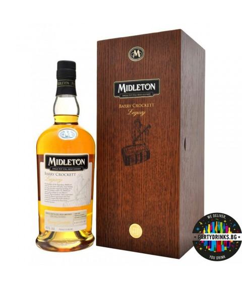 Ирландско уиски Midleton Barry Crockett Wooden Box 700ml
