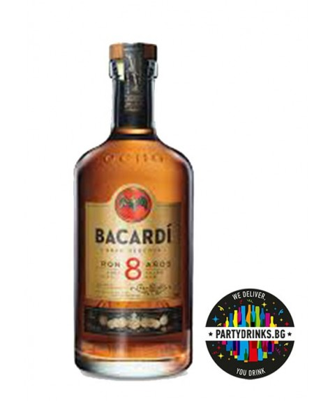 Bacardi 8 Years Old 700ml 40%
