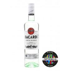 Bacardi Carta Blanca 700ml 38%