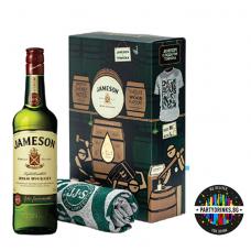Ирландско уиски Jameson с тениска 700ml 40%