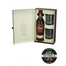 Glenfiddich 15 Years Old Distillery Edition Non Chill Filtered 700ml + 2 glasses 51%