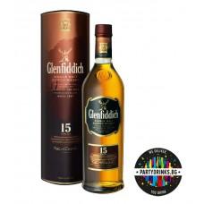 Glenfiddich  Single Malt  15 Years Old 1.0L