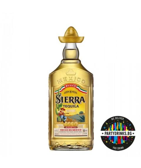 Tequila Sierra Gold 700ml 38%