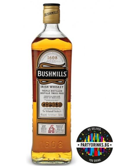 Ирландско уиски Bushmills 1.0L 40%