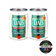 DAB Original Lager 2 кега в кашон х 5.0L