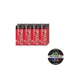 """Coca Cola """"Zero"""" стек 12 броя x 330ml"""