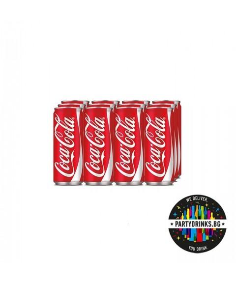 Безалкохолно Кока Кола стек 12 броя x 330ml