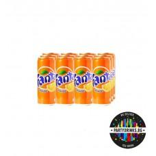 """Fanta """"Портокал"""" стек 12 броя x 330ml"""