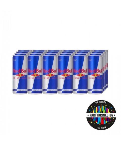 Енергийна напитка RED BULL стек 24 броя x 250ml