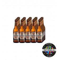 Clausthaler Unfiltred (безалкохолна) 330ml 24 бутилки в кашон