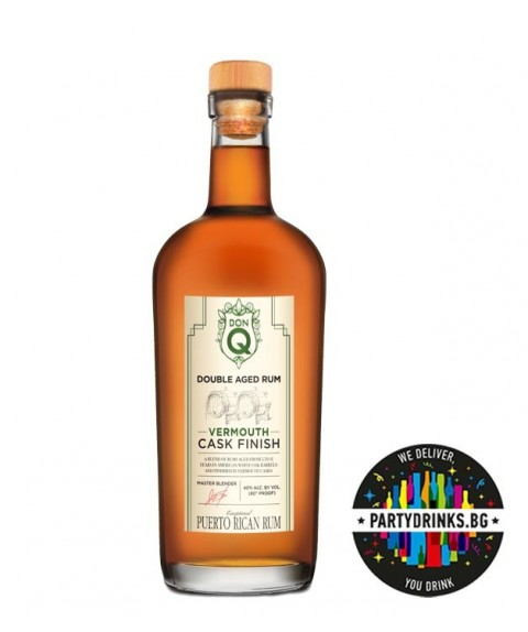Don Q Double aged Vermouth Cask finish 700ml 40%