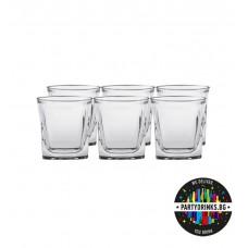 Glasses Katherene Whiskey 280ml 6 pieces