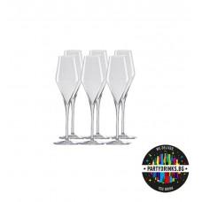Чаши за Шампанско Quatrophil Flute 292 ml 6 броя