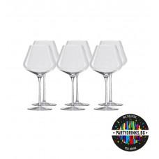 Чаши за Червено Вино Qatrophil Burgunder 708ml 6 pieces