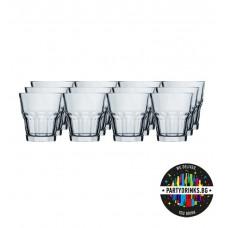 Glasses for Vodka Casablanca 208ml 12 pieces