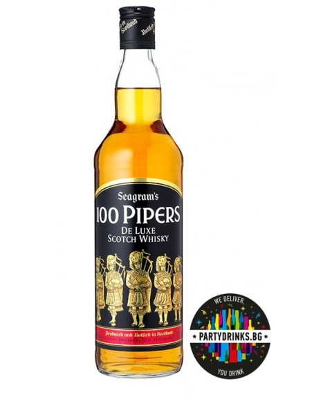 100 Pipers De Luxe Scotch Whisky 1.0L