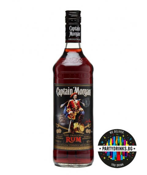 Captain Morgan Original Dark 1.0L 40%