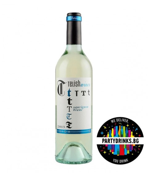 Бяло вино Telish Sauvignon Blanc 750ml 12.5%