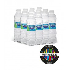 "Mineral water ""Bankq"" box 12 pieces x 500ml"