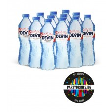 "Spring water ""Devin"" box 12 pieces x 600ml"