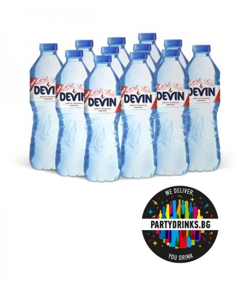 "Изворна вода Изворна вода ""Девин"" стек 12 броя x 600ml"