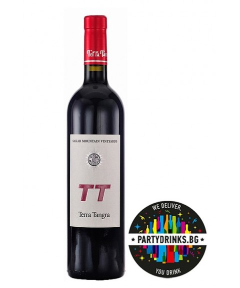 Червено вино Terra Tangra ТТ Merlot Syrah & Cabernet Franc 750ml