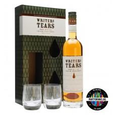 Ирландско уиски Writers Tears + 2 чаши 700ml 40%