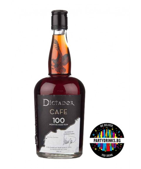Rum Dictador 100 Months Cafe 700ml