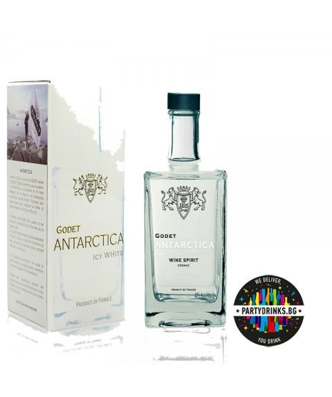 Cognac Godet Antarctica Icy White 500ml 40%