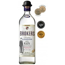 BROKER'S LONDON DRY GIN 1.0L