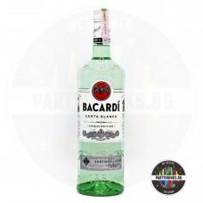 Ром Bacardi Carta Blanca 1.0L 37.5%