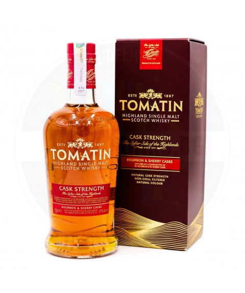 Tomatin Cask Strength Edition 700ml 57,5%