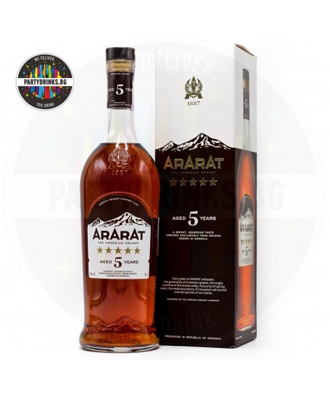 Бренди Ararat 5 Years Old 700ml 40%