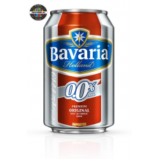 Безалкохолна бира Bavaria 500ml кен 24 броя в кашон