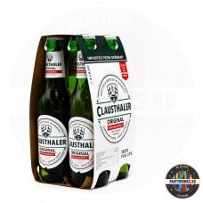 Безалкохолна бира Clausthaler Original 330ml 4 бутилки