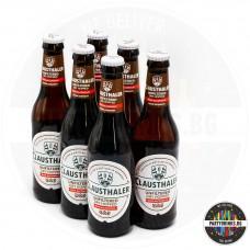 Безалкохолна бира Clausthaler Unfiltered 330ml 6 бутилки