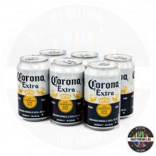 Бира Corona Extra кен 330ml 4.6% 6 броя