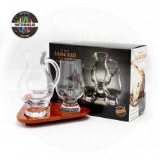 Чаши за уиски с кана Glencairn Flight Tray set