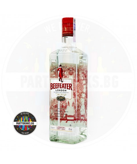 Джин Beefeater London Dry 1.0L 40%