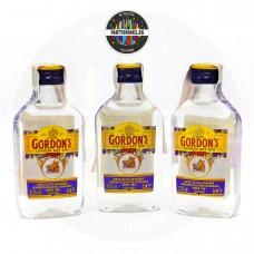 Джин Gordon's London Dry 50ml 37.5% 3 броя