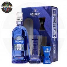 Джин Greenall's Blueberry 700ml 37.5% с чаша и мерилка