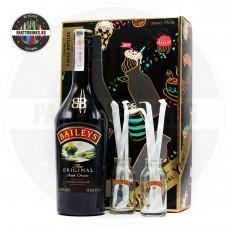 Ликьор Baileys Original Irish Cream 700ml с 2 бутилчици и 6 сламки 17%
