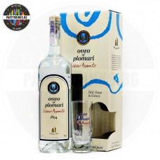 Узо Ouzo of Plomari 1.0L 40% с подарък чаша