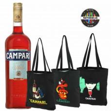 Вермут Campari 700ml с подарък чанта