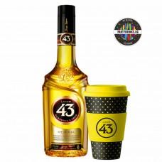 Ликьор Licor 43 с подарък бамбукова чаша за кафе